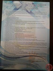 News Bekasi Reborn DPPPA Kab. Bekasi,  MEMANGGIL PUTRA/I KAB. BEKASI UNTUK MENJADI ANGGOTA KPAD