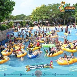 """News Bekasi Reborn Jelang New Normal Obyek Wisata """"Transera Water Park"""" Lakukan Persiapan Kenyamanan Pengunjung"""