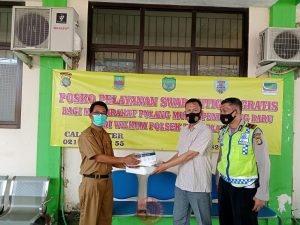 News Bekasi Reborn AKP Shobirin Kapolsek Tambelang : Sebelum Aktifitas Kerja Warga di Wajibkan Tes Swab Antigen