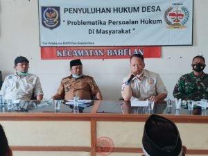 News Bekasi Reborn Ketua LHPD Ulung Purnama,SH,MH Apresiasi Perangkat Desa Pantai Urip Hadiri Penyuluhan Hukum Dengan Antusias