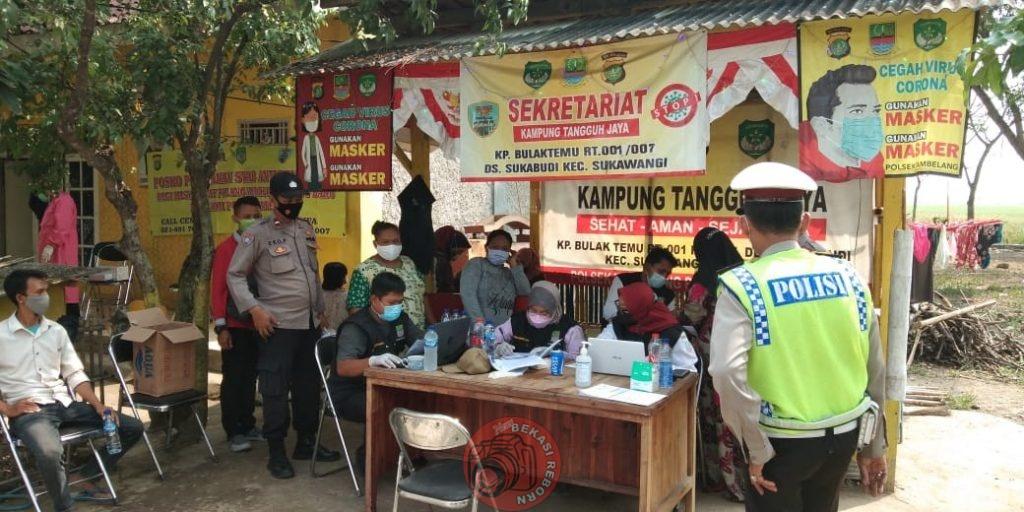 News Bekasi Reborn AKP Shodirin Kapolsek Tambelang Giat Operasi Kemanusiaan Bhakti Bhayangkara di Desa Sukabudi