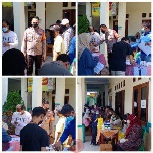 News Bekasi Reborn Kapolsek Medansatria Kompol Agus Rohmat Targetkan 200 Vaksin Dalam Sekali Kegiatan
