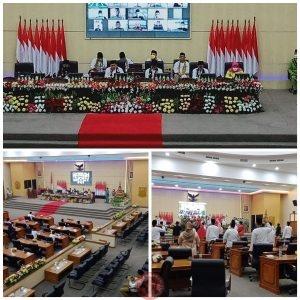 News Bekasi Reborn DPRD Bekasi Sidang Paripurna Syukuran HUT Ke 71 Kab.Bekasi di Hadiri PJ Bekasi dan 30 Anggota Dewan