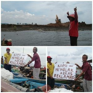 News Bekasi Reborn Nelayan Pantai Muara Tawar Tarumajaya Kab.Bekasi Tolak Reklamasi