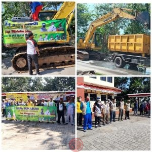 News Bekasi Reborn Lurah Pitung Kades Sukabudi Peringati WCD 2021 Giat Bersih Lingkungan di Perbatasan Desa